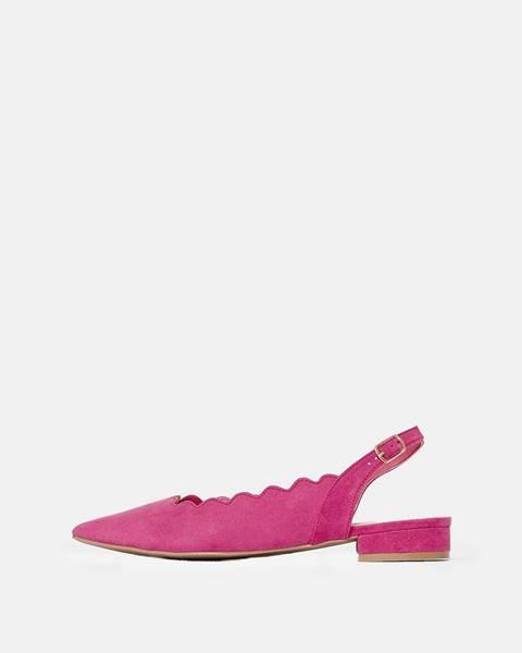 Ružové balerínky Dorothy Perkins