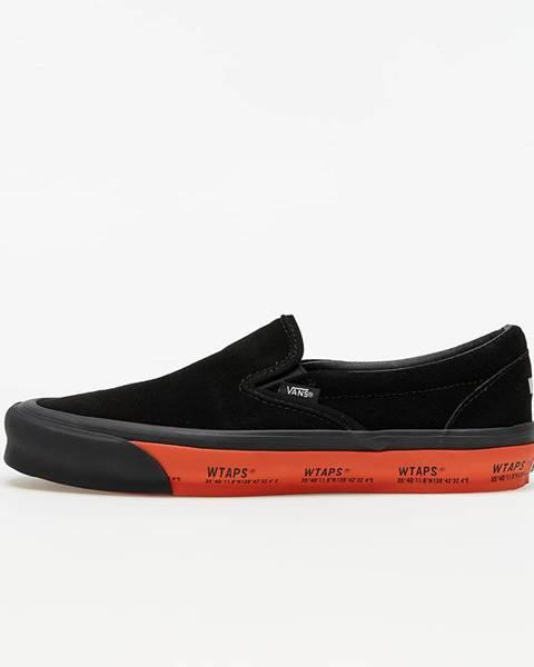 Čierne tenisky Vans