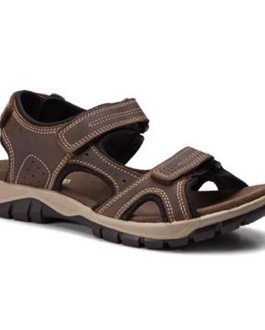 Hnedé sandále GO SOFT