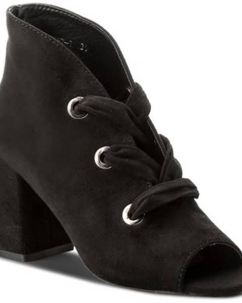 Čierne čižmy Jenny Fairy