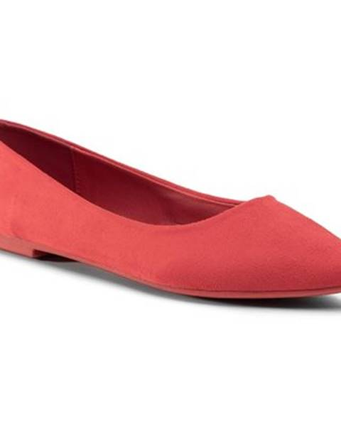 Červené balerínky Bassano