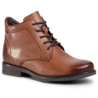 Šnurovacia obuv Lasocki WI16-ALBA3-01 Prírodná koža(useň) - Lícova