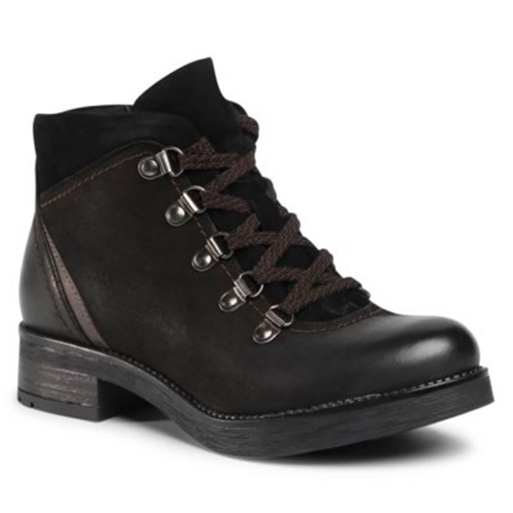 Lasocki Šnurovacia obuv Lasocki WI23-D435-02 Prírodná koža(useň) - Nubuk