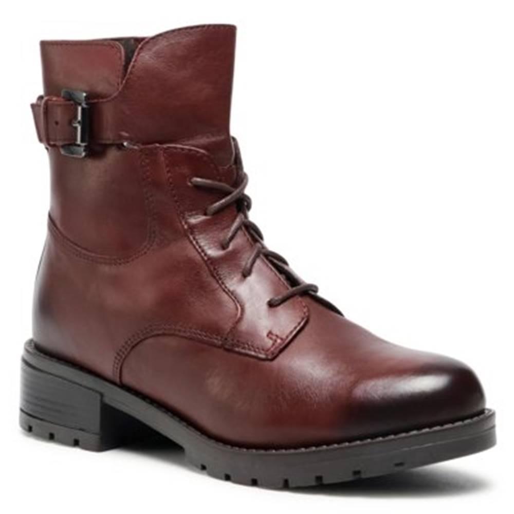 Lasocki Šnurovacia obuv Lasocki RST-ARTI-13 Prírodná koža(useň) - Lícova