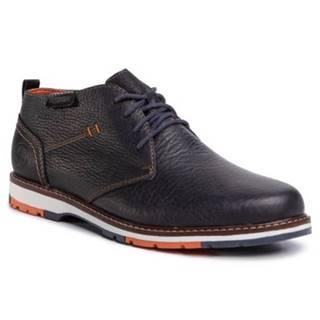 Členkové topánky Rieker 10531-00 Prírodná koža(useň) - Lícova