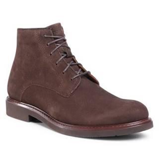 Šnurovacia obuv Gino Rossi MB-MACAO-101 Prírodná koža(useň) - Nubuk
