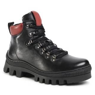Šnurovacia obuv Lasocki EST-ZENA-01 Prírodná koža(useň) - Lícova