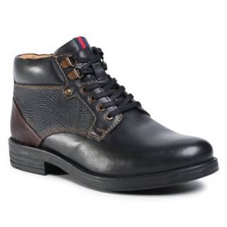 Šnurovacia obuv Sergio Bardi MI07-C743-658-02 Prírodná koža(useň) - Lícova