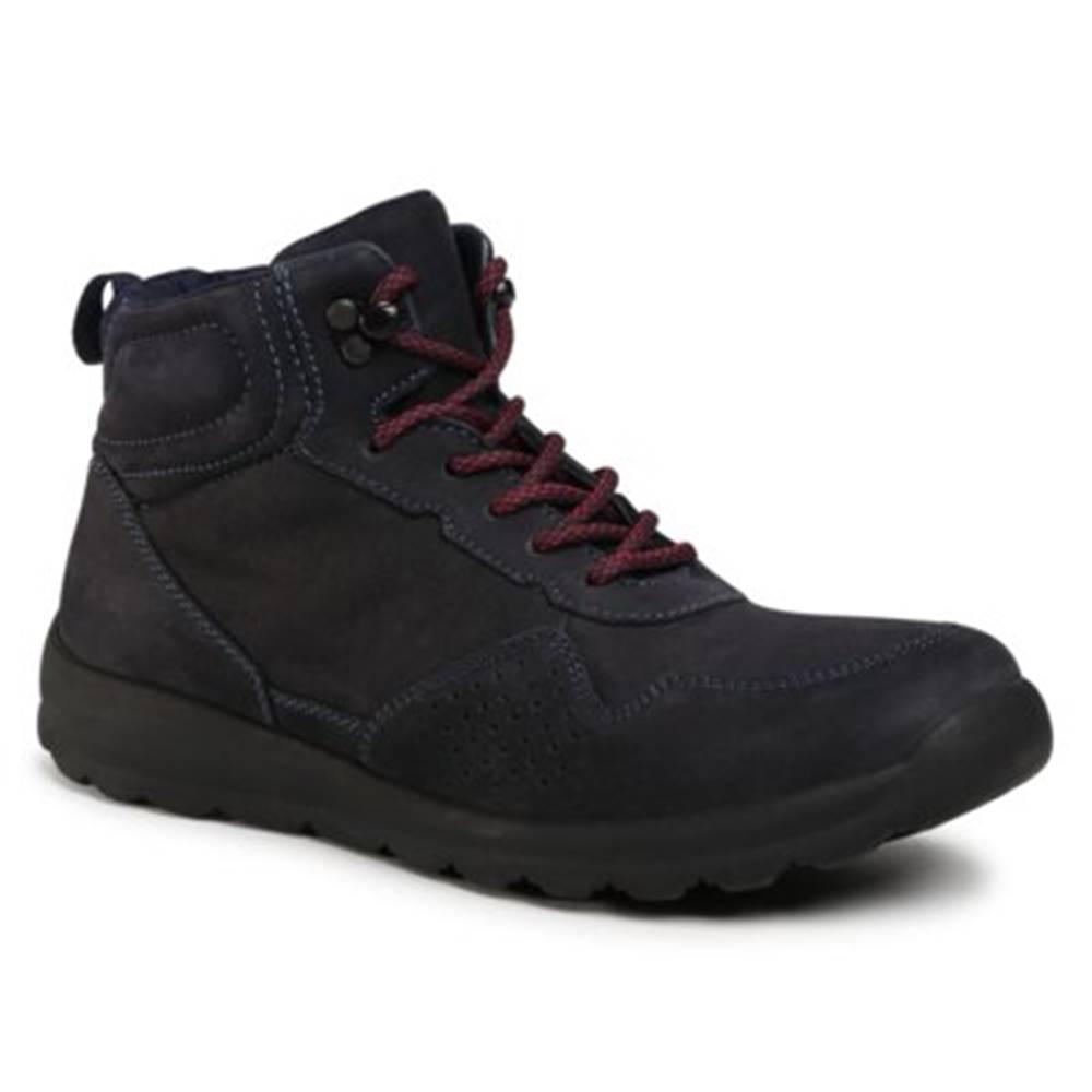 Sergio Bardi Šnurovacia obuv Sergio Bardi MI07-A976-A805-06EO Prírodná koža(useň) - Nubuk