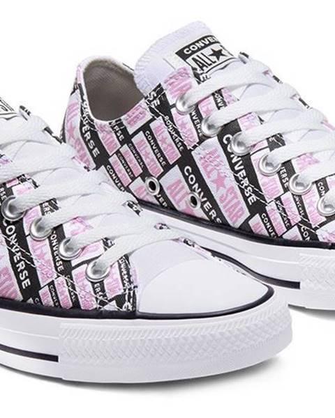 Fialové tenisky Converse