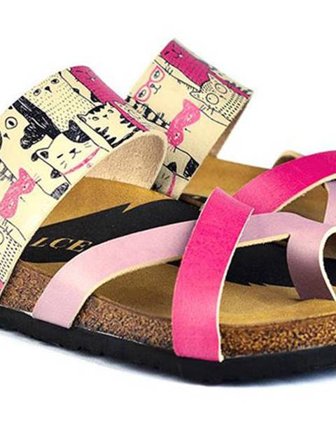 Ružové papuče calceo