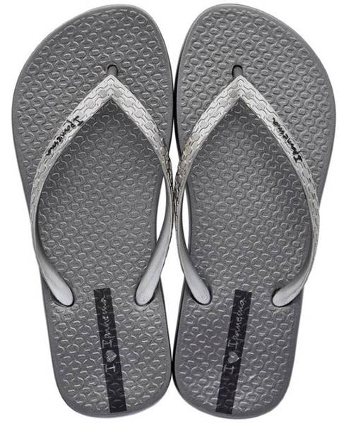 Strieborné papuče Ipanema