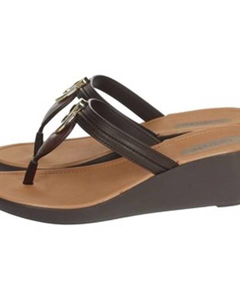 Hnedé sandále Grendha