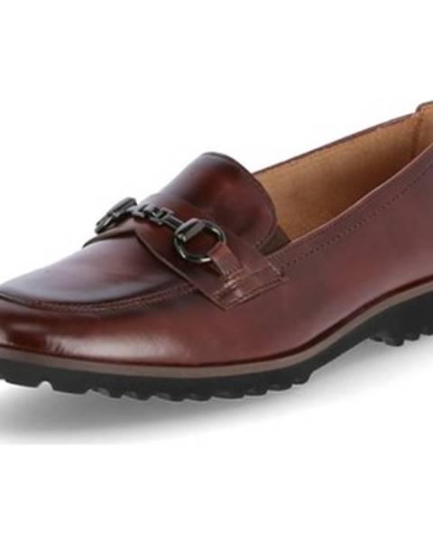 Hnedé topánky Gabor