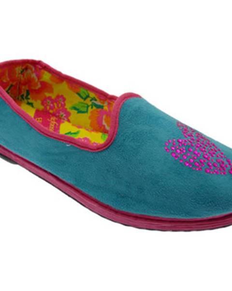 Modré papuče De Fonseca