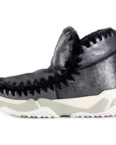 Strieborné topánky Mou