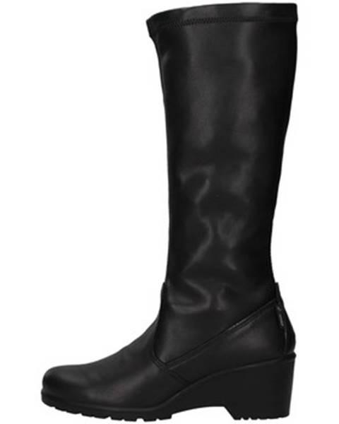 Čierne čižmy Enval