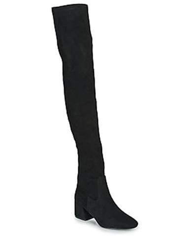 Čierne čižmy Vanessa Wu