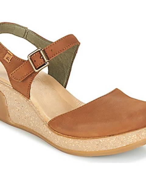 Hnedé sandále El Naturalista