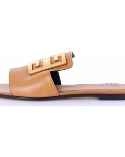Béžové topánky Givenchy