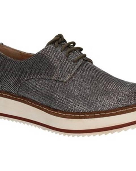 Strieborné topánky Exé Shoes