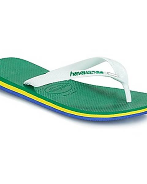 Zelené topánky Havaianas