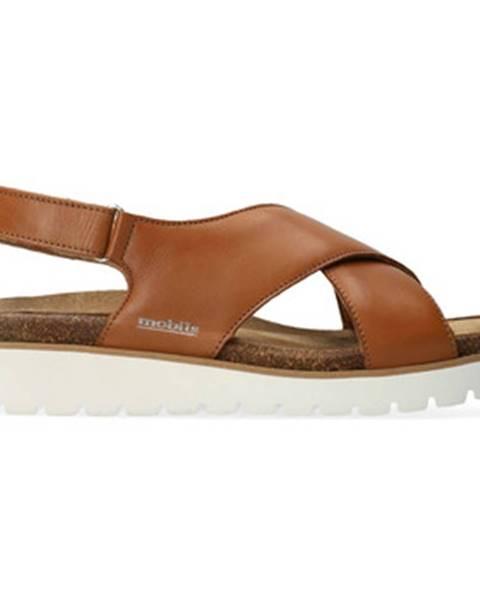 Hnedé sandále Mephisto