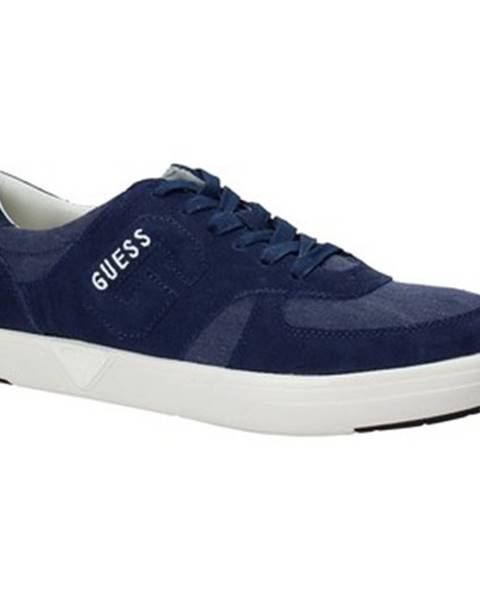 Modré tenisky Guess