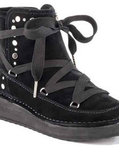Čierne topánky Lumberjack