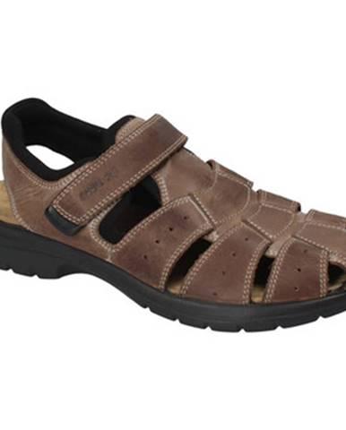 Hnedé sandále Enval