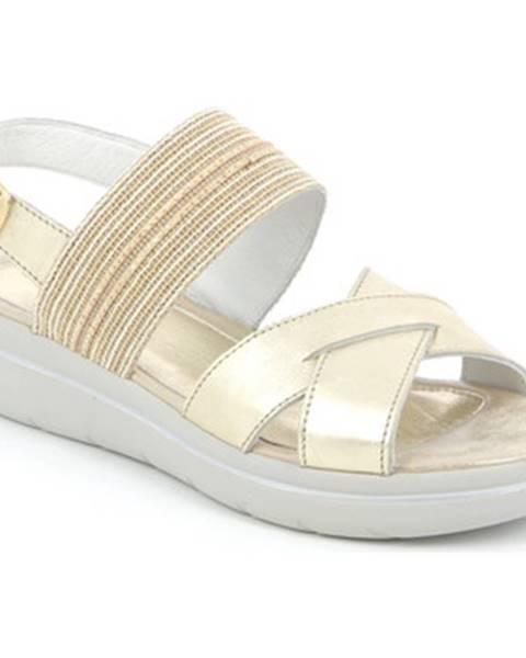 Zlaté sandále Grunland