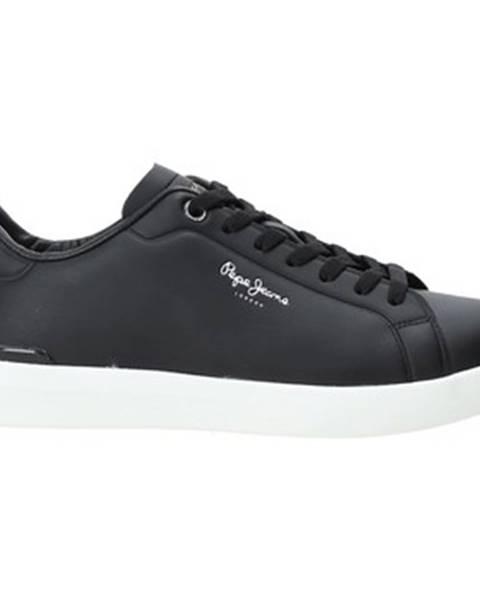 Čierne tenisky Pepe jeans