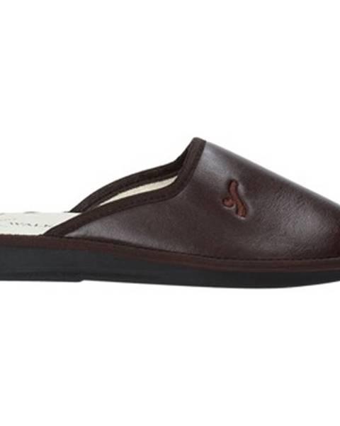 Hnedé papuče Susimoda