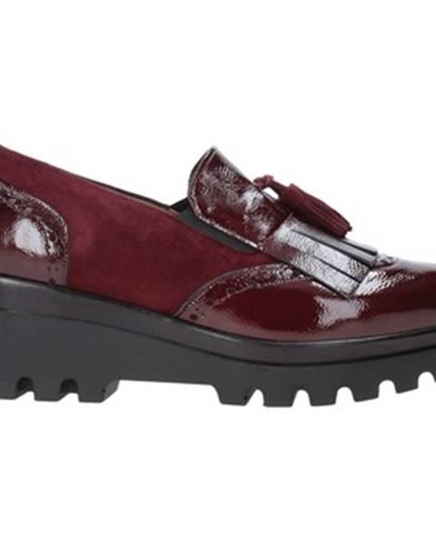 Červené espadrilky Grace Shoes