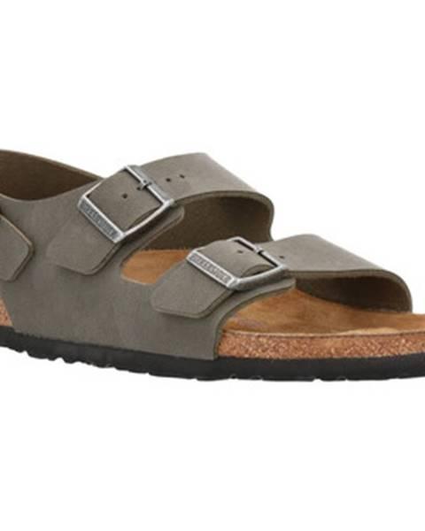 Zelené sandále Birkenstock