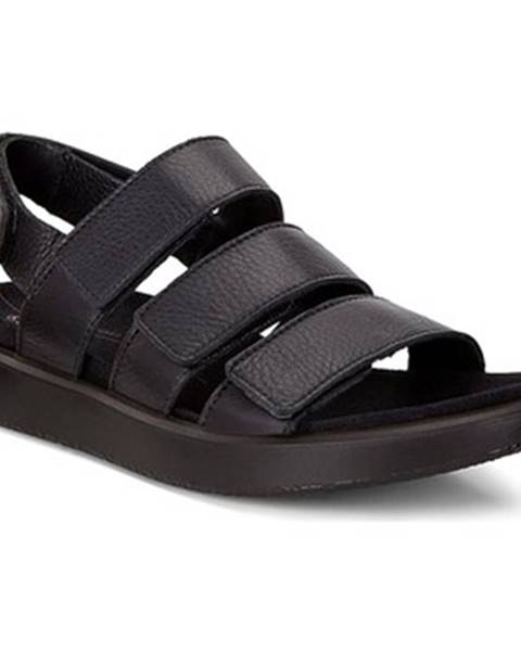 Čierne sandále Ecco