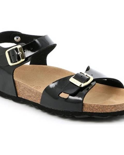 Čierne sandále Grunland