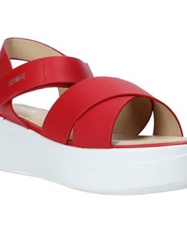 Červené sandále Impronte