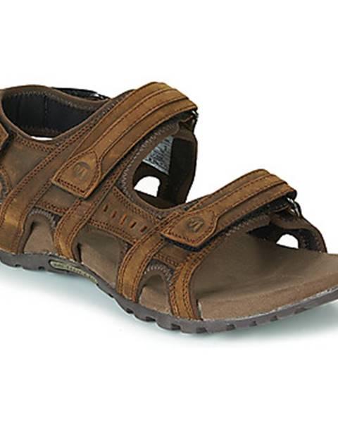 Hnedé športové sandále Merrell