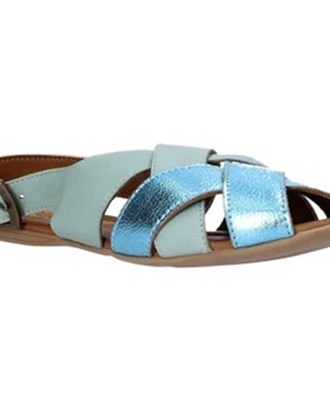 Modré sandále Bueno Shoes