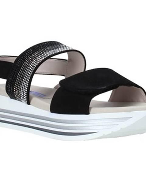 Čierne sandále Comart