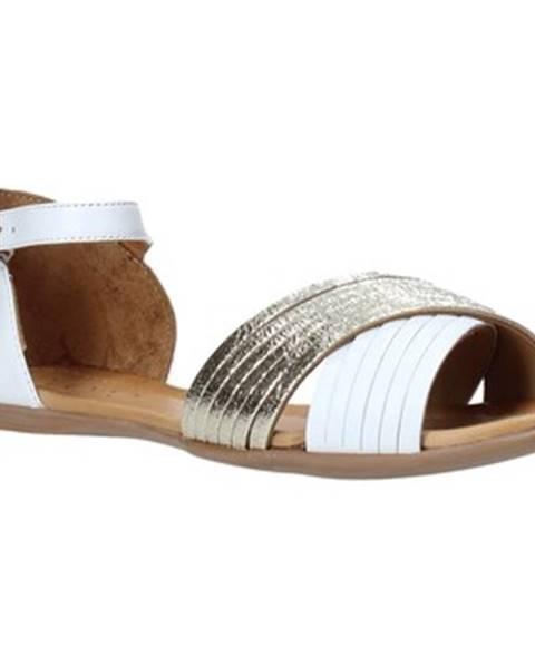 Biele sandále Bueno Shoes