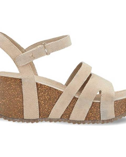 Béžové sandále Docksteps