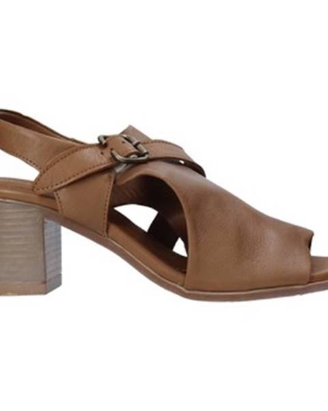 Hnedé lodičky Bueno Shoes