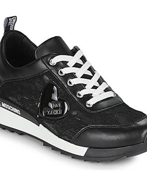 Čierne tenisky Love Moschino
