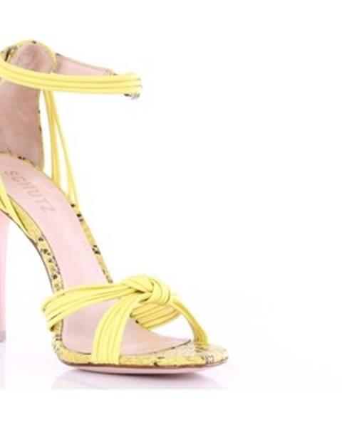 Žlté sandále Schutz