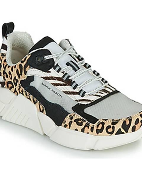 Béžové tenisky Skechers