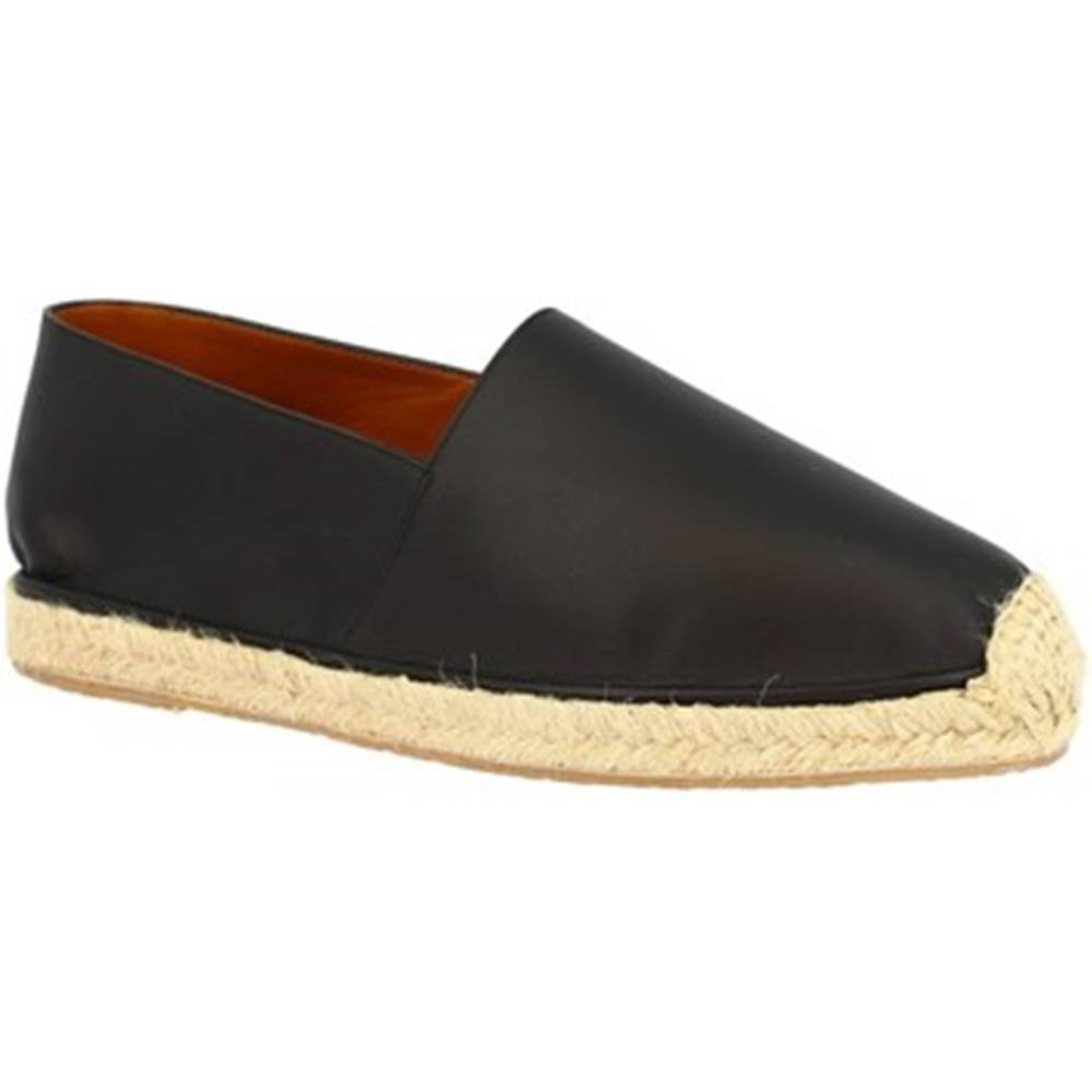 Leonardo Shoes Espadrilky Leonardo Shoes  UOMO FLEX VITELLO NERO