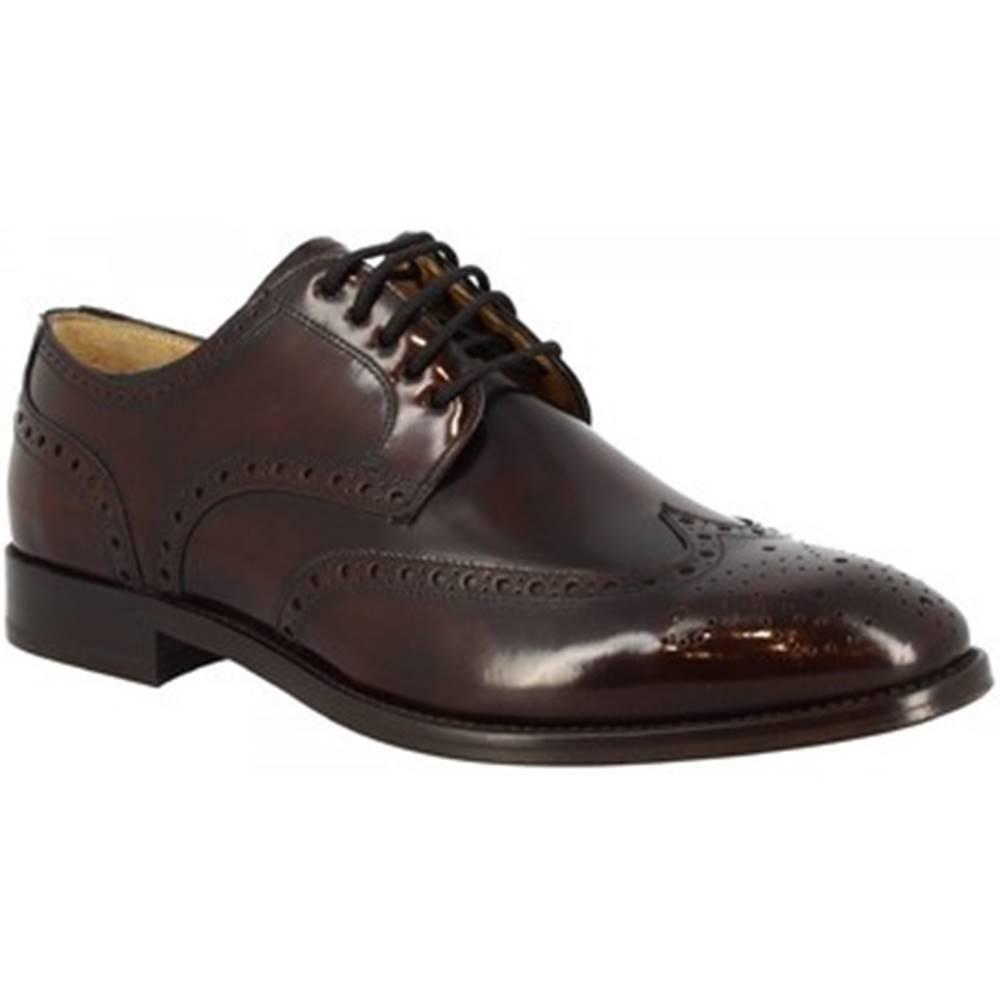 Leonardo Shoes Derbie Leonardo Shoes  7661 BORDEAUX