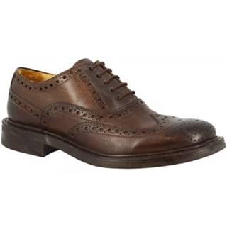Derbie Leonardo Shoes  4712 DELAVE CIOCCOLATO